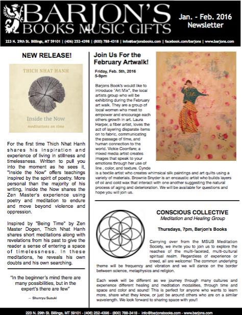 Barjon's Sept-Oct 2015 Newsletter