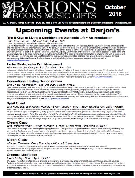 Barjon's May-June 2016 Newsletter
